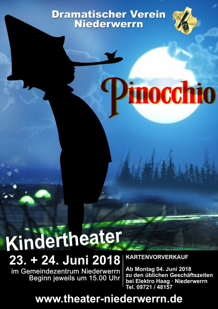 """Pinocchio"" - Kindertheater in Niederwerrn"